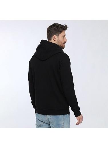 Quiksilver Erkek Sweatshirt Siyah